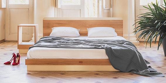 Täispuidust magamistoamööbel, voodid