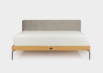 Bed Ehe Velvet silver gray